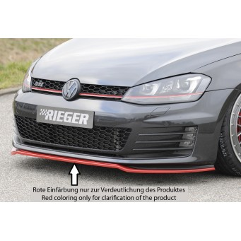 Rieger front splitter only for GTI/GTD VW Golf 7 GTD