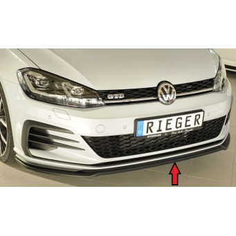 Rieger front splitter only for GTI/GTD/GTE VW Golf 7 GTD