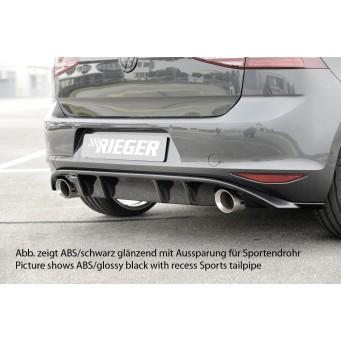 Rieger rear skirt insert VW Golf 7 GTI