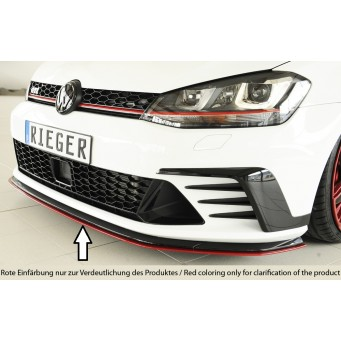 Rieger front splitter only GTI Clubsport VW Golf 7 GTI Clubsport