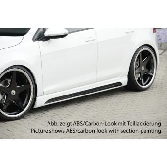 Rieger side skirt VW Golf 7 R