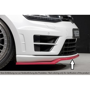Rieger front splitter VW Golf 7 R