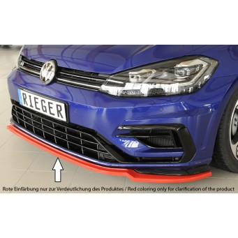 Rieger front splitter only for R / R-Line VW Golf 7 R