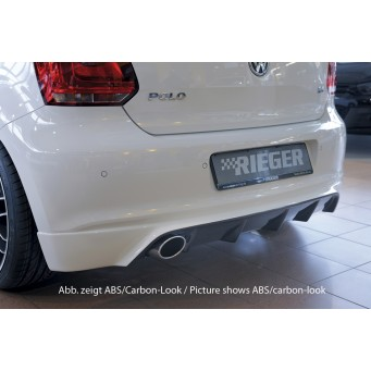 Rieger rear skirt extension VW Polo 6 (6R)