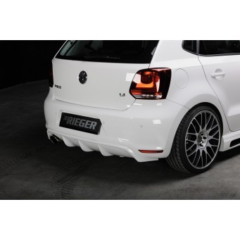 Rieger rear skirt insert VW Polo 6 GTI (6R)