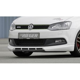 Rieger front spoiler lip VW Polo 6 GTI (6R)