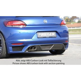 Rieger rear skirt extension VW Scirocco 3 (13)