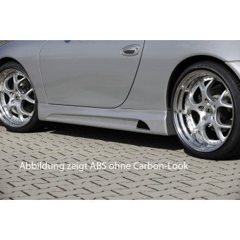 Rieger rear skirt extension Porsche 911 (Typ 996)