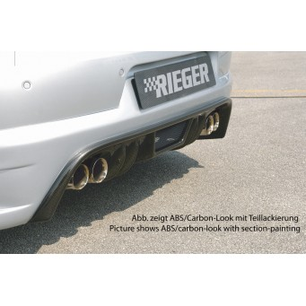 Rieger rear skirt extension   VW Eos (1F)