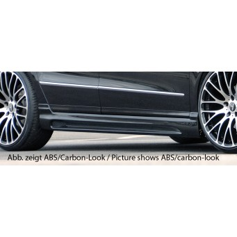 Rieger side skirt VW Passat (3C)