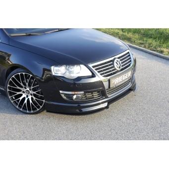 Rieger front spoiler lip VW Passat (3C)