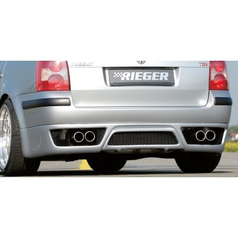 Rieger rear skirt extension   VW Passat (3BG)
