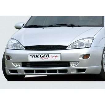 Rieger front spoiler lip with 6 air-intakes Ford Focus 1