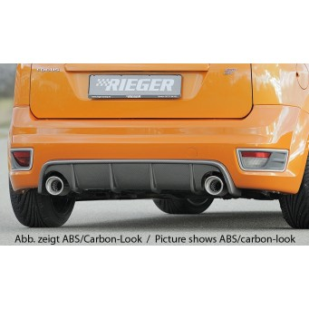 Rieger rear skirt insert Ford Focus 2 ST