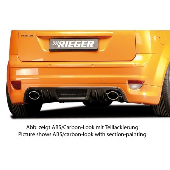 Rieger Rearschorzenansatz Ford Focus 2