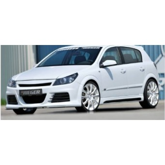 Rieger front bumper Opel Astra H