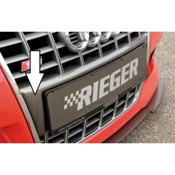 Rieger licence plate carrier Audi A3 S3 (8L)