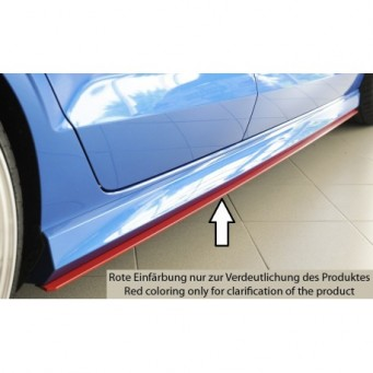 Rieger side skirt extension Audi A3 S3 (8V)