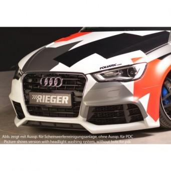 Rieger front bumper Audi A3 S3 (8V)