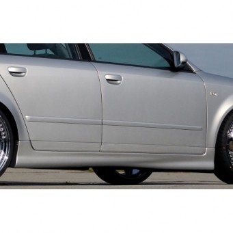 Rieger side skirt Audi A4 (8E) type B6