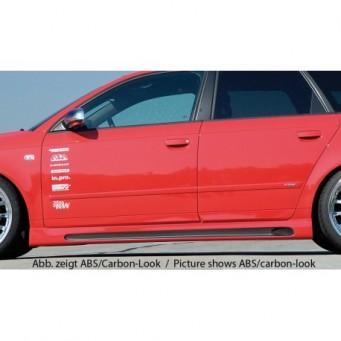 Rieger side skirt Audi A4 (8E) type B7