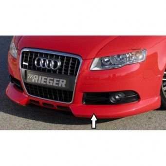 Rieger front spoiler lip   Audi A4 (8E) type B7