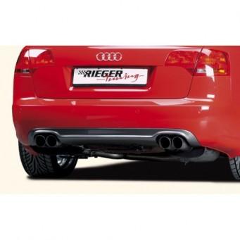 Rieger rear skirt extension   Audi A4 (8E) type B7