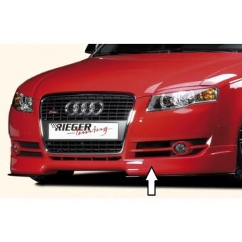 Rieger front spoiler lip   Audi A4 (8H)