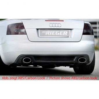 Rieger rear skirt extension   Audi A4 (8H)