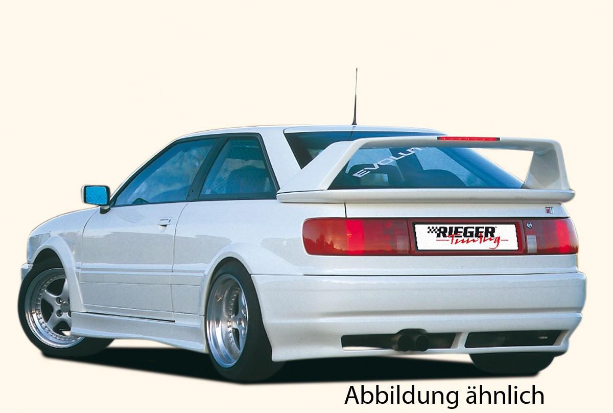 Rieger splitter for rear skirt Audi 80 Type 89