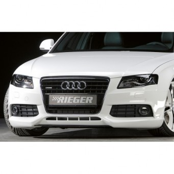 Rieger front spoiler lip Audi A4 (B8/B81)