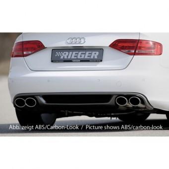 Rieger rear skirt insert Audi A4 (B8/B81)