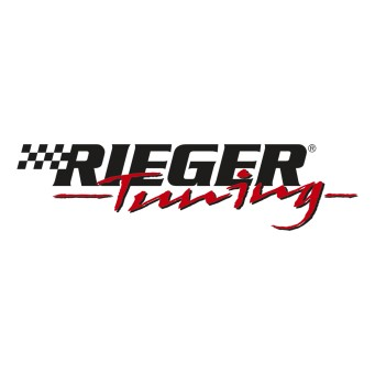 Rieger splitter for rear skirt   BMW 3-series E46